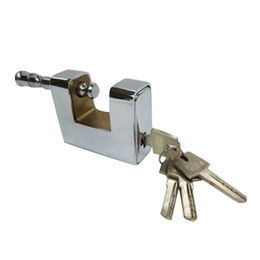 Steel warehouse padlock from Kin Kei Hardware Industries Ltd