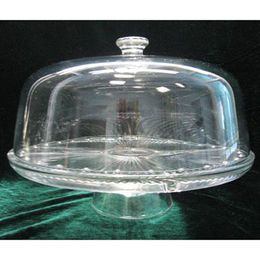 30x20cm Clear Glass Cake Plates