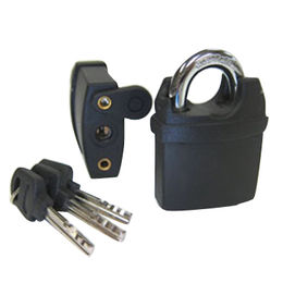 Brass padlock with plastic coated from Kin Kei Hardware Industries Ltd