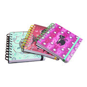 Spiral bound hard cover notebook from China (mainland)
