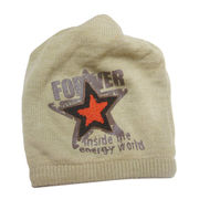 Dual-purpose knitted beanie hat from China (mainland)
