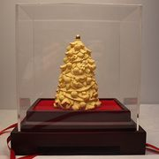 24K gold-plated Christmas tree figurine from China (mainland)
