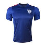 2015 USA Men's U-neck Soccer Jerseys Dri-fit from China (mainland)