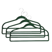 Flocked pants hanger from China (mainland)