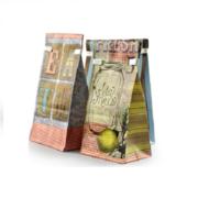 Tin tie kraft coffee bags from China (mainland)