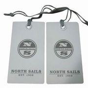 coated paper printed hang tag from China (mainland)