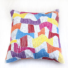 Embroidered cushion Manufacturer