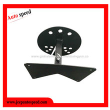 China License plate spare tire relocation bracket