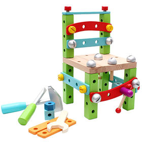 Wooden Screw Tool Toy & Accessories