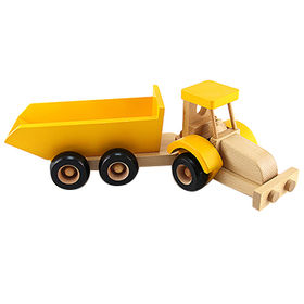 Wooden toy truck from China (mainland)