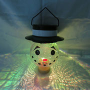 Christmas snowman solar light from China (mainland)