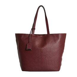Tote bag features a croc-embossed design from China (mainland)