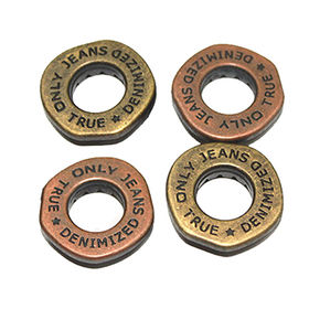 Copper plating metal zinc alloy eyelets from China (mainland)
