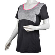 OEM comfortable breathable round neck t-shirt from China (mainland)