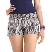 Girls' printed shorts from India