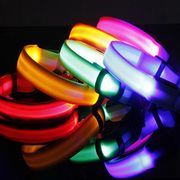 led dog collars and leash led flashing dog collar Manufacturer