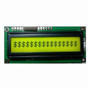 16 x 1 Characters LCD Module, Yellow-green Backlight, Cables (Optional) from Xiamen Ocular Optics Co. Ltd