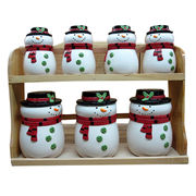 Ceramic Christmas Canister Sets from China (mainland)