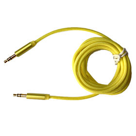 Braided 3.5mm audio interconnect cable from China (mainland)