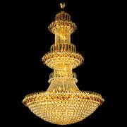 Luxury big crystal chandelier for lobby