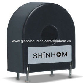 China Current Sensor/Transformer with Up to 200A Maximum Current Range/50 to 400Hz Working Frequency Range