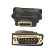 HDMI 19-pin Male To DVI 24 + 1 Pin Male Adapter from Dongguan Suntes Electronics Technology Co. Ltd