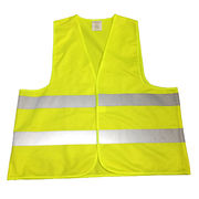 High Visibility Safety Reflector Men's Vest Jacket from China (mainland)