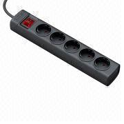 5 sockets german standard power strip from China (mainland)