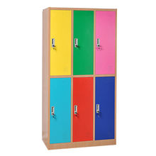 Colorful 9 doors steel locker from China (mainland)