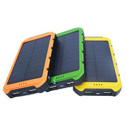 China Universal 10000mAh Portable Solar Charger for Mobile Phone