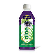 360ml Blackcurrant Flavor Aloe Juice from Vietnam