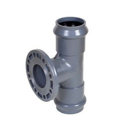 UPVC Two Faucet and One Flange Reducing Tees from China (mainland)