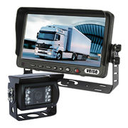 Parking guidance systems with waterproof camera+monitor for trucks vision safety