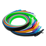 2015 most popular new design silicone jelly belt from China (mainland)