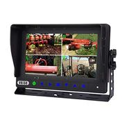 Waterproof monitor with IP69K for farm tractor agricultural equipment vision
