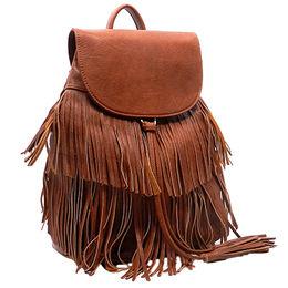 Popular PU Leather Backpack Manufacturer