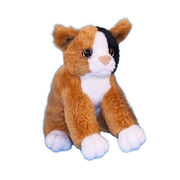 China 13cm tortoise shell cat soft touch toys