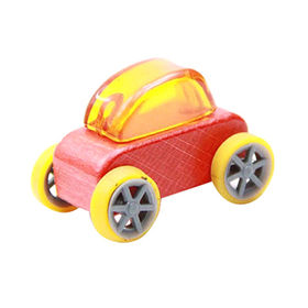 Colorful Wooden Mini Car Toy Manufacturer