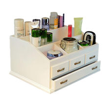 Wooden Cosmetic Storage Display Box Manufacturer