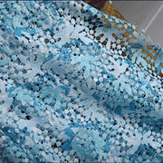 Embroidery fabric, chemical lace, embroidery, floral design