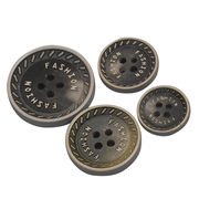 Fashion resin custom logo four holes button from China (mainland)