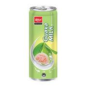 330mL Guava Milk Slim Aluminum Can from Vietnam