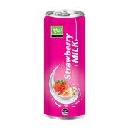 330mL Strawberry Milk Aluminum Can from Vietnam
