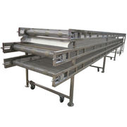 Stainless steel complex pork frozen conveyor from China (mainland)