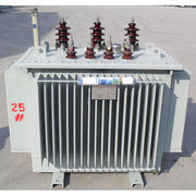 S9 oil immersed power and distribution transformer, low losses Dyn11 Dyn0 with tap changer oil tank