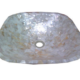 Mother of Pearl Hand Wash Basin