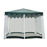 4pcs voile mesh sidewall gazebos from China (mainland)