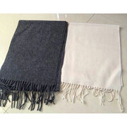 100% wool scarf, Customized sizes and designs are accepted