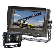 Crane, truck reversing camera monitor system from Veise Electronics Co. Ltd