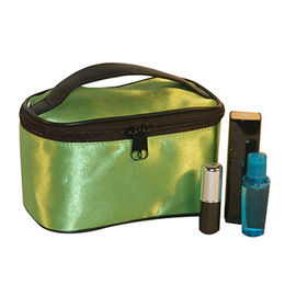 Fashion sample and soft leather cosmetic bag from China (mainland)